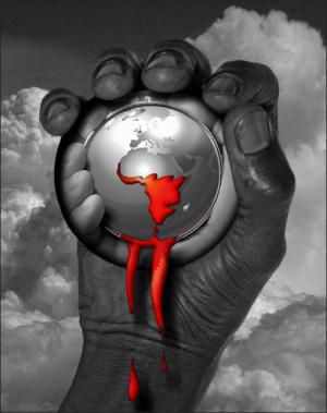 Africa is bleeding Hein W 2006 Aids awareness program