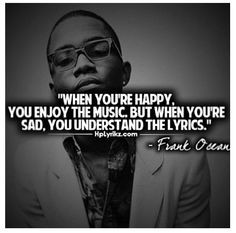 Frank Ocean Quotes About Love Frank ocean quotes