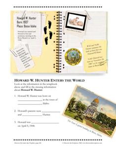 Discover the Latter-day Prophets for LDS Homeschool family sample ...