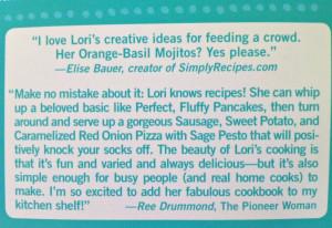 Recipe Girl Cookbook Quotes