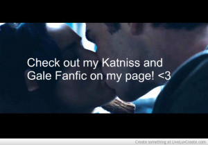 Gale And Katniss Love Story - The Kiss