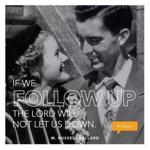 Russel Ballard, General Conference 2014, inspiring quote, mormon ...