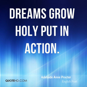 Adelaide Anne Procter Dreams Quotes