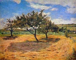 Paul Gauguin Apple Trees...
