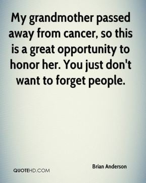 Grandmother Passed Away Quotes
