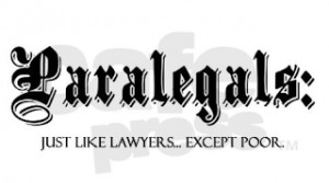 Paralegals Are Number One on Most Underrated Jobs List