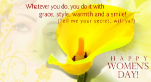 You are viewing right now the image Simple Happy Women,s Day Quotes ...