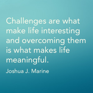 Overcoming challenges quote