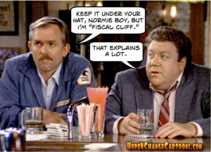 norm, cliff, cheers, fiscal cliff, obama, obama jokes, hope and change ...