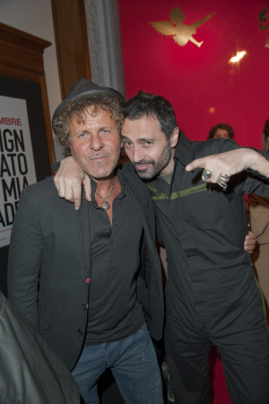 ... Al Fuorisalone Con Fabio Novembre Renzo Rosso E Ennio Capasa picture