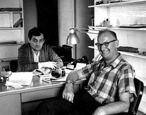 Stanley Kubrick y Arthur Clarke