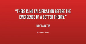Our empirical criterion for a series of theories is that it should ...