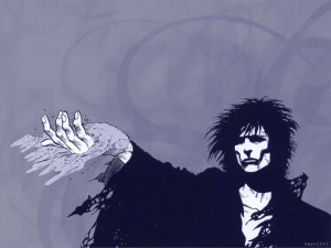 ... into sandman the first reason is because the art in sandman is never