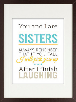 Funny Sister Quote $16