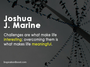 Joshua J. Marine Quotes
