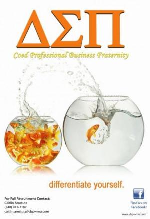 DSP Recruitment Flyer 2009 (Goldfish)