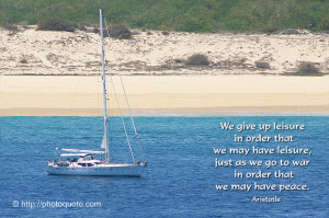 Sailboat Ocean Quotes About
