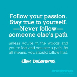 love ellen she s hilarious passionate and wise in this quote ellen ...