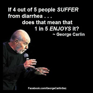 If 4 out of 5 people SUFFER from diarrhea…does that mean that 1 ...