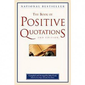 The Book of Positive Quotations (Paperback) product details page