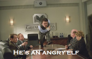 Elf #Will Ferrell #angry elf #hilarious