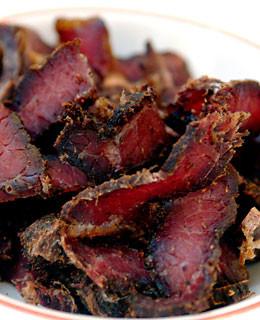 Beef Biltong - Pepper