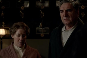 Go Back > Gallery For > Mrs Hughes Downton Abbey Dies