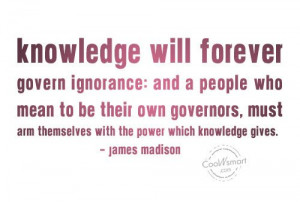 Ignorant Quotes About Men Ignorance quote: knowledge
