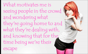 Hayley Williams Quote by MissingInArt