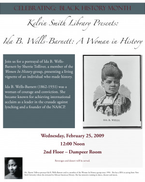 Read articles about Ida B. Wells-Barnett on Project Muse & NetLibrary