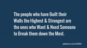 Breaking Down Walls Quotes