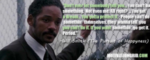 Don't ever let somebody tell you… You can't do something. Not ...
