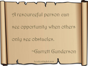 Image Quotes About People Being Resourceful