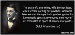 death of a friend quotes