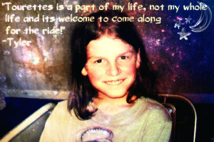 Tourette Syndrome awareness in pictures, part 1