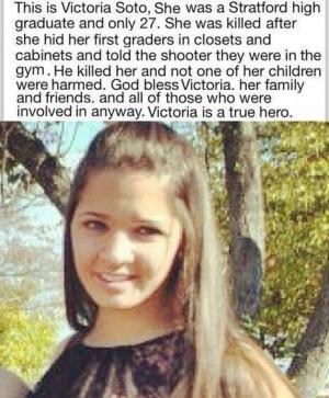 Sandy-Hook Elementary School Shooting: Victoria Soto, A 1st Grade ...