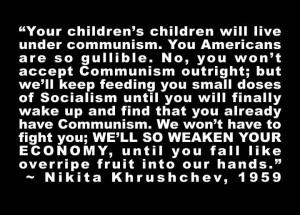 Nikita Khrushchev quote