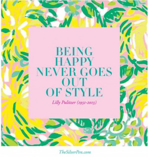 Lilly Pulitzer 1931-2013