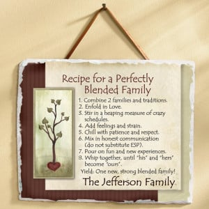 Recipe for a Perfectly Blended Family