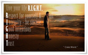 ... be sincere G = Good intentions H = Honesty T = Trust. - Author Unknown