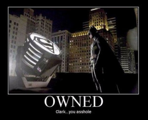 Superman Owns Batman In This Awesome Meme