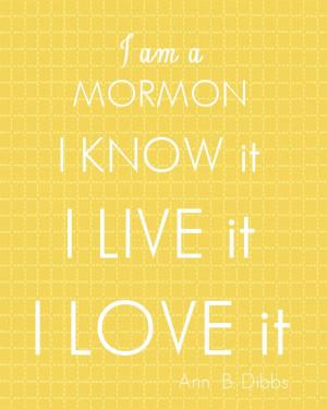 Love us mormons