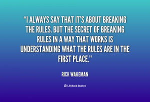 Quotes by Rick Wakeman