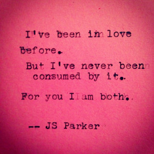 love quotes #consumed #typewriter