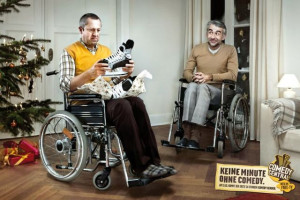 Excellent ads for a comedy TV channel (15 pics)