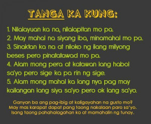 ofmar funnytagalog love love kay bob quotes pasaway quotes love