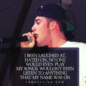 Mac Miller Hated On Quote Facebook Wall Pic