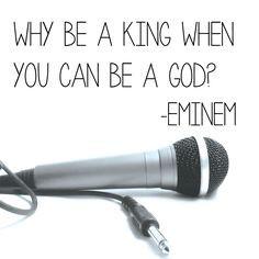 Eminem Lyrics Rap God