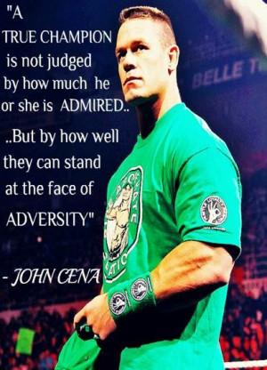 love You @JohnCena I admire you're amazing...& my inspiration