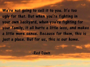 best red dawn quote